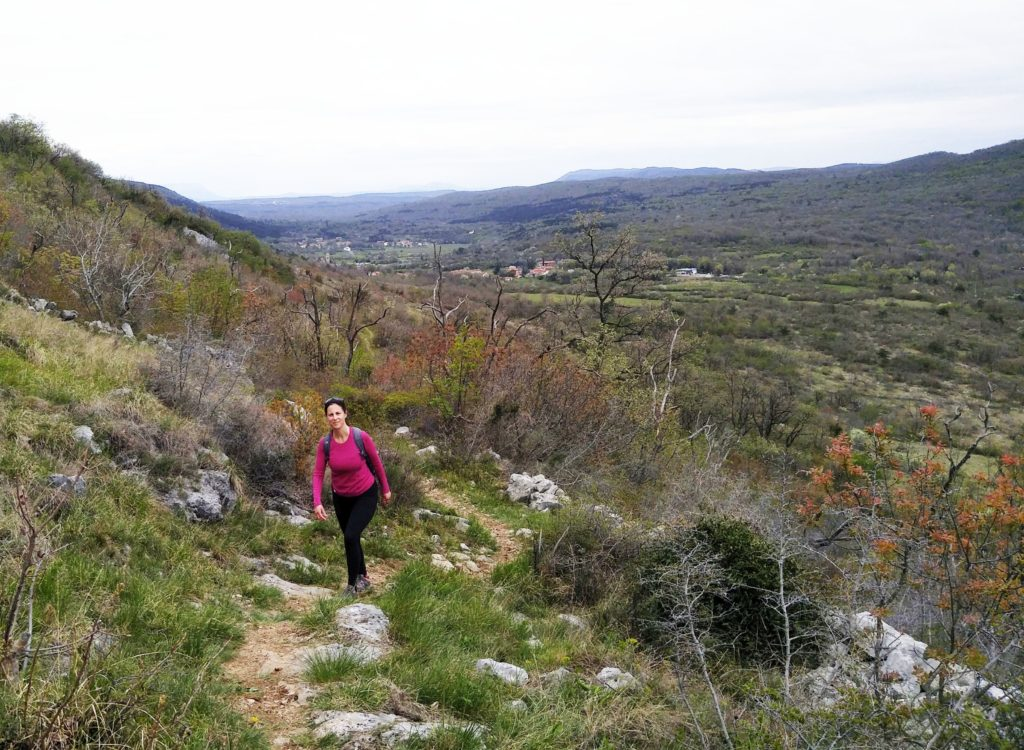 Blogger walks in Slovenia's Karst region