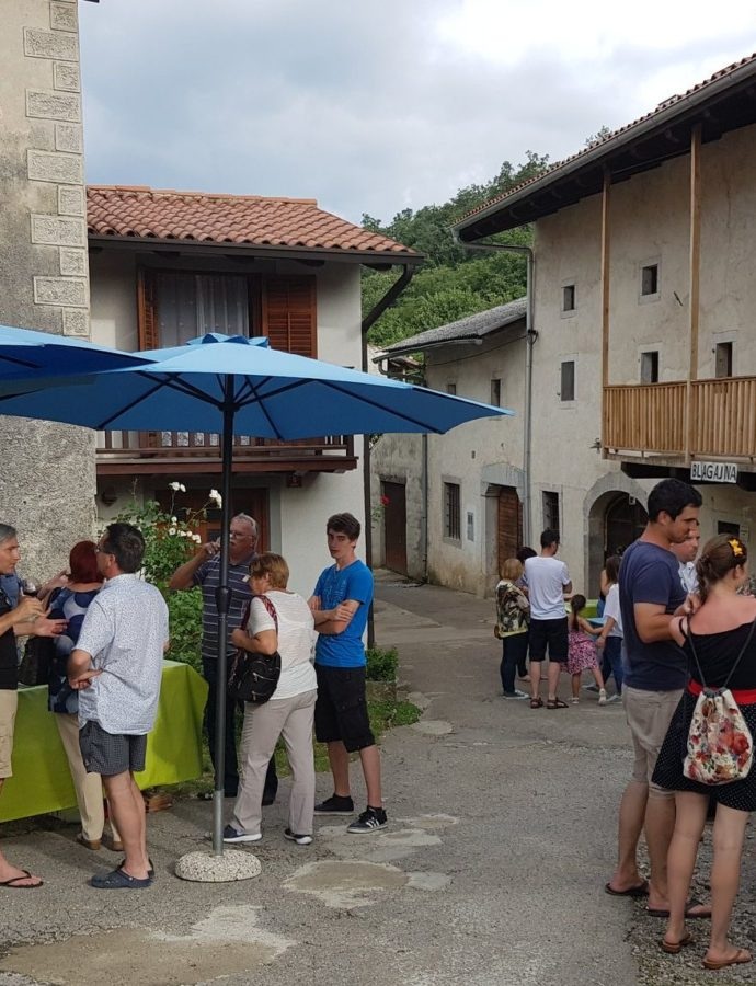 Revived Pedrovo – A feast of food, wine, and art – Pedrovo, Western Slovenia