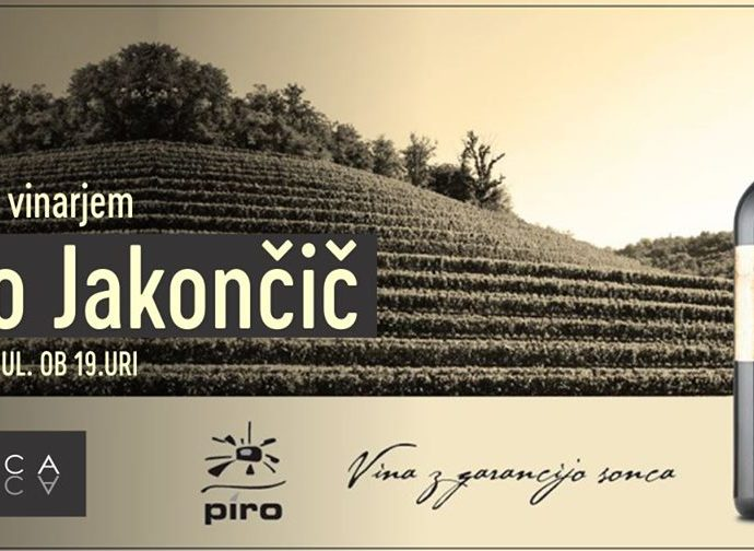 Night With Winemaker – Piro – Jakončič