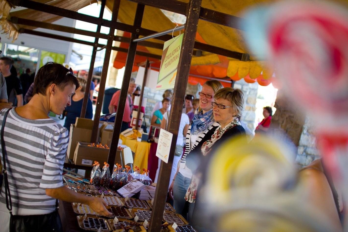 Sweet Istria sweet food festival in Koper, Slovenia