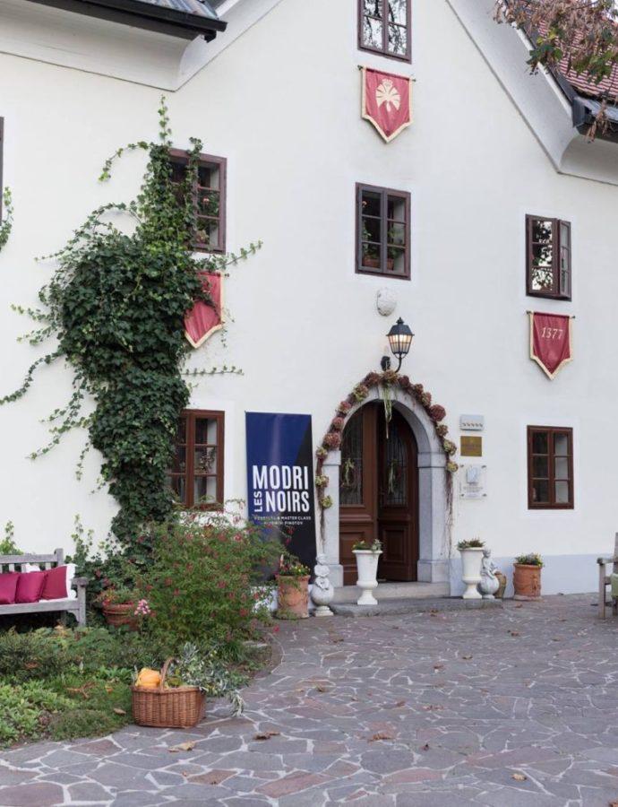 Modri – Les Noirs: Pinot Noir Festival & Masterclass — Hotel Kendov Dvorec, Spodnja Idrija, Western Slovenia