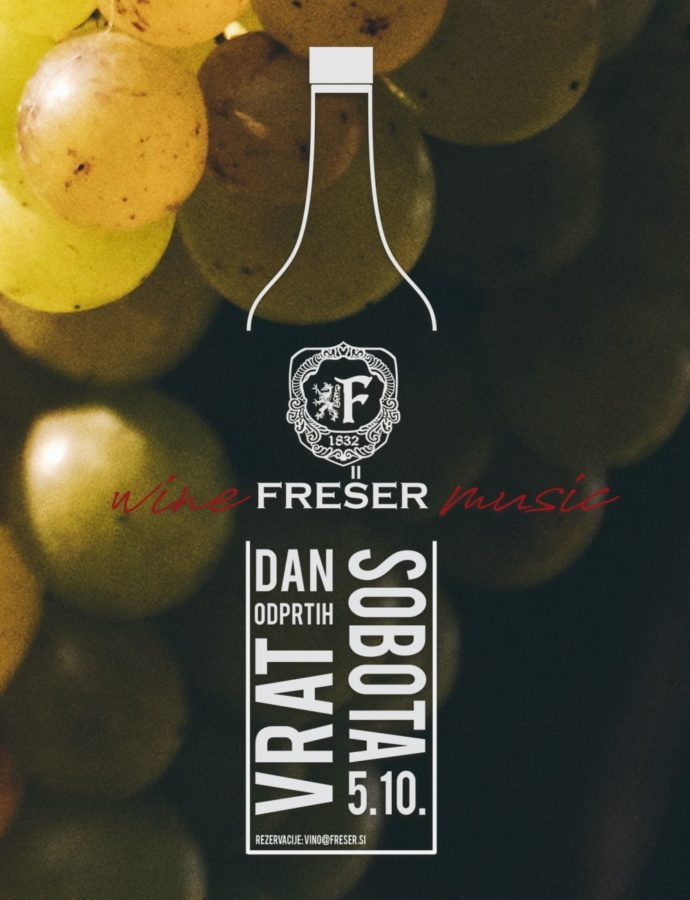 Wine Frešer Music 2019 (Open Cellars Day) — Slovenska Bistrica, Northeastern Slovenia