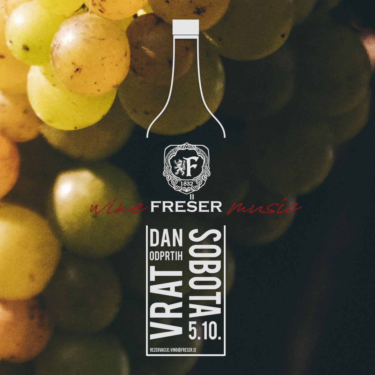 Frešer Winery festival poster
