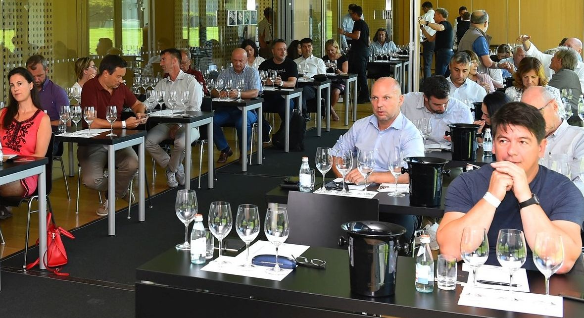 Decanter World Wine Awards Salon workshop