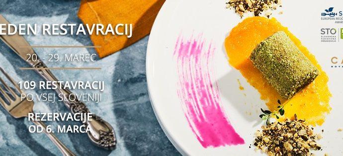Restaurant Week Spring 2020 — Slovenia