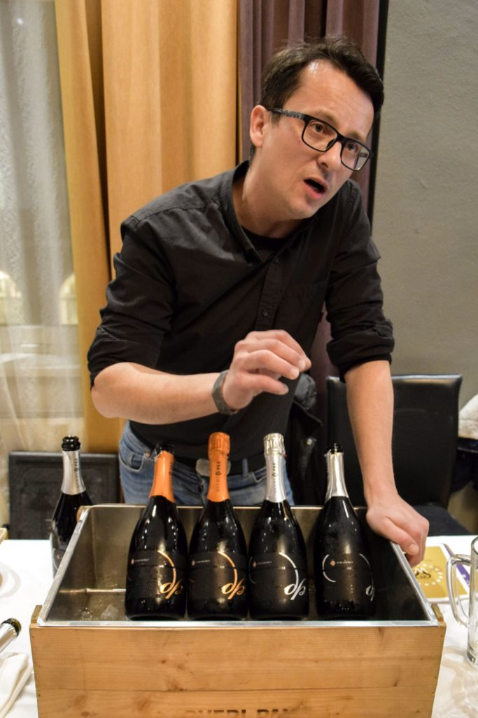 Winemaker explains his sparkling wines