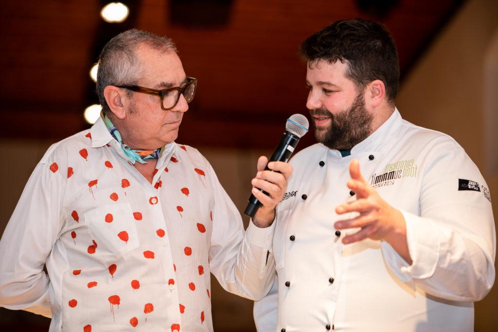 Food guru interviews famous Slovenian chef Luka Kosir