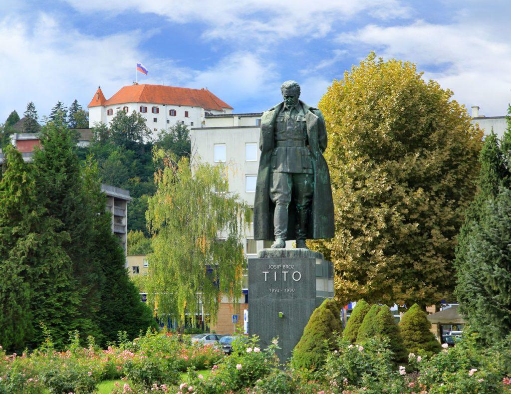 Statue of Tito in Velenje