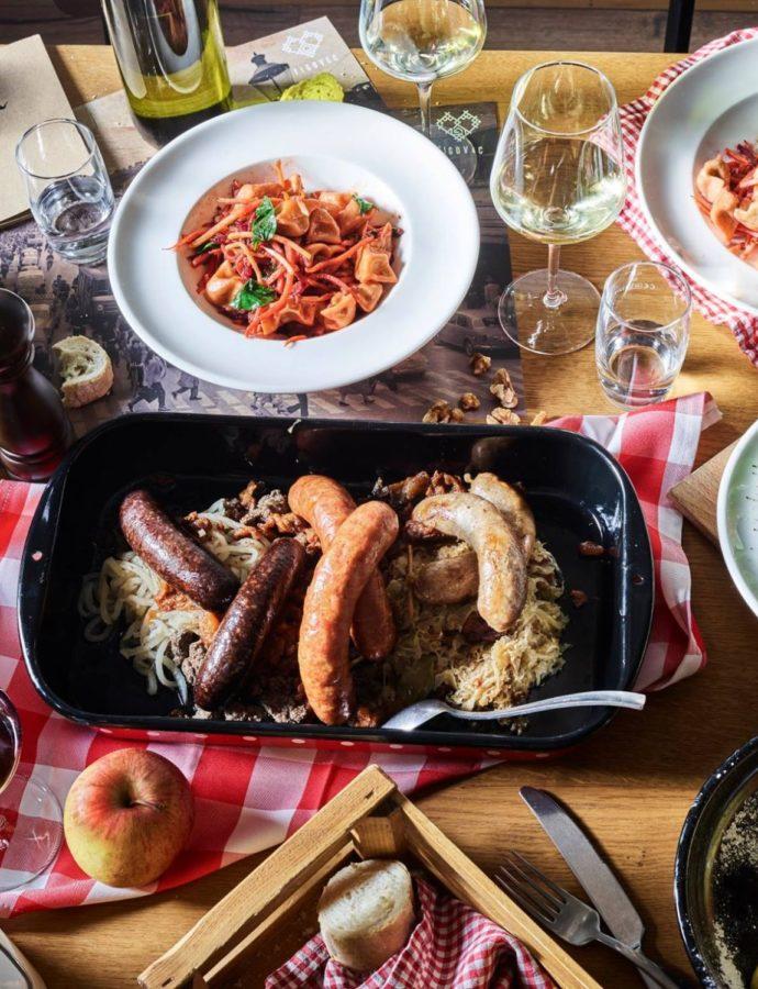 Food & Wine Pairing — Slovenska Hiša – Figovec, Ljubljana