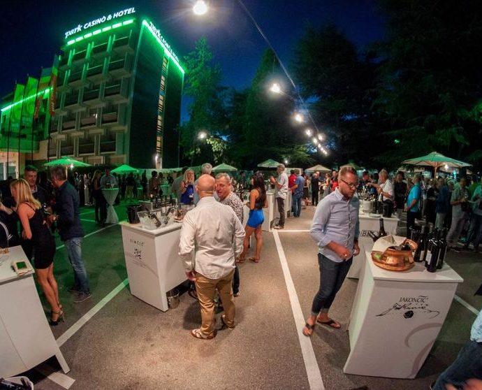 Park Wine Party — Nova Gorica, Western Slovenia