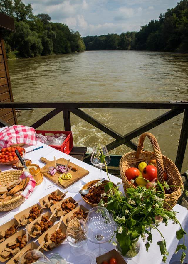 Gourmet Over Mura — Murska Sobota Castle, Northeastern Slovenia