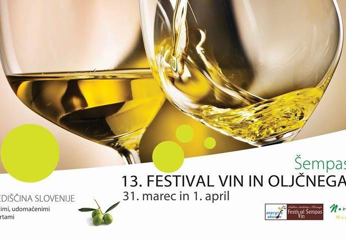 13th Olive Oil and Wine Festival in Šempas