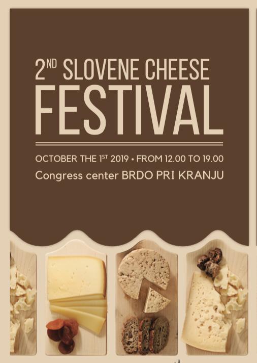 2nd Slovene Cheese Festival — Brdo, Kranj, Northwestern Slovenia