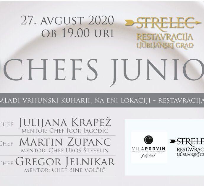 3 Chefs Juniors — Strelec Restaurant, Ljubljana