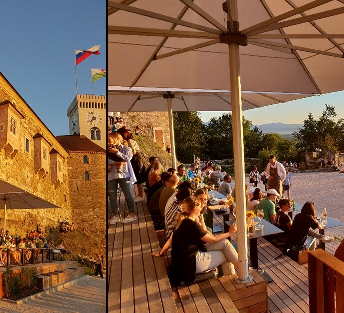 Castle Wine Bar & Bistro Strelec 1st Anniversary Celebration — Ljubljana Castle
