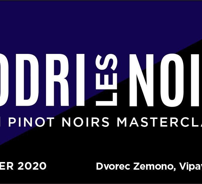 Modri Les Noirs Pinot Noir Wine Festival & Masterclass — Gostilna pri Lojzetu – Dvorec Zemono, Vipava Valley