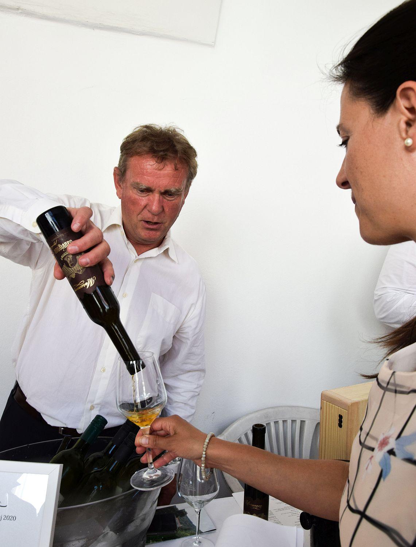 Wine tasting at Ptuj Salon Sauvignon