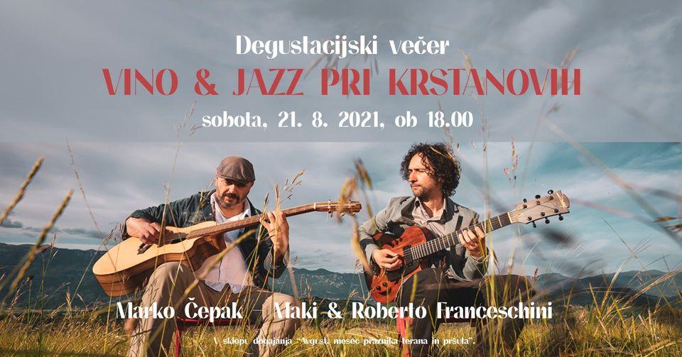 Wine & Jazz at Krstan Wine Cellar (Kraška Klet Krstan)