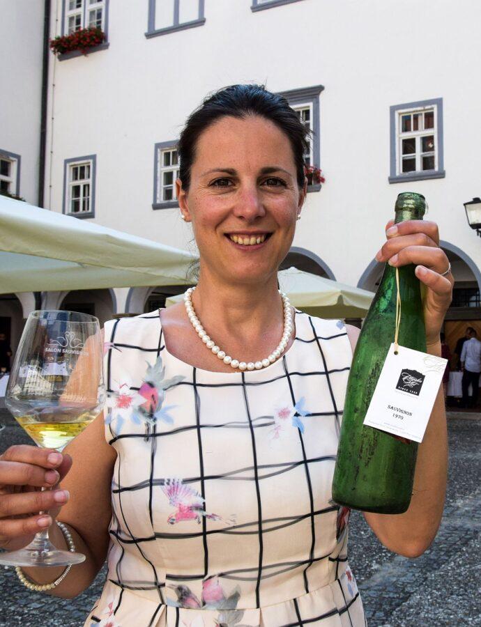 The Oldest Slovenian Wine at Ptuj's Salon Sauvignon (Semisweet Sauvignon 1970)
